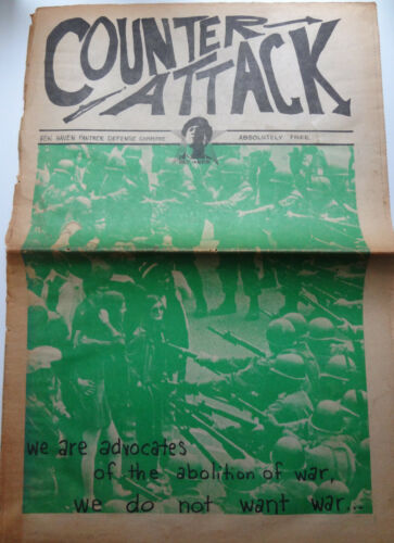 Counterattack New Haven Panther Defense Committee Newspaper, 1970
