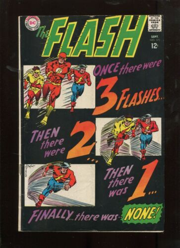 FLASH #173 (5.5) 3 FLASH RACE