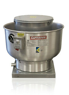 Restaurant Canopy Hood Grease Rated Upblast Exhaust Fan 1500-2200 Cfm Du85hfa