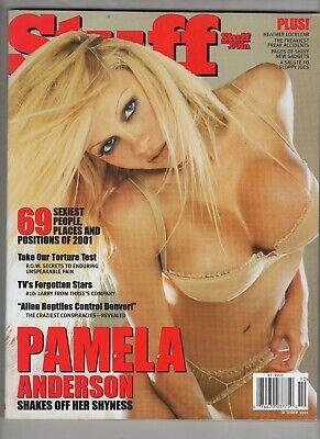 Stuff Magazine #23 Oct 2001 FHM Magazine #45 May 2004 Pamela Anderson