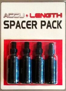Accu Length Golf Club Spacers RH 4 Pack Extender Shaft Junior Spacer Extension