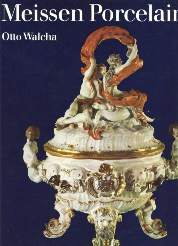 Antique Meissen Porcelain China – Forms Decorations Marks Etc / Book (516 pages)
