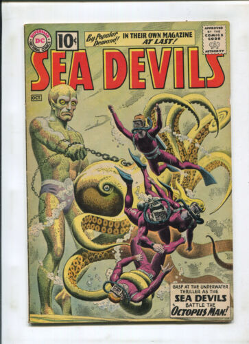 SEA DEVILS #1 (7.0) 1ST OF OWN TITLE!