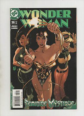 Wonder Woman #186 - Adam Hughes Feminine Mystique Cover - (Grade 9.2) - Feminine Superheroes