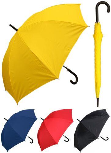 "48"" Arc Doorman, Black Handle Umbrella-RainStoppers, Rain/Sun UV, Fashion,Travel"