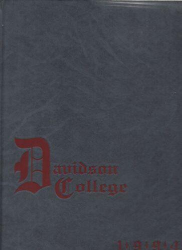 "1994 ""Quips & Cranks"" Yearbook - Davidson College - Davidson, North Carolina +"