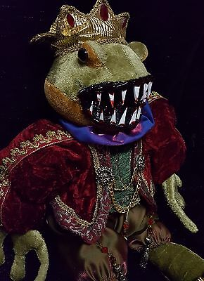 Zombie Frog Prince Gothic Medieval Zombie Baby Halloween Horror Doll Prop