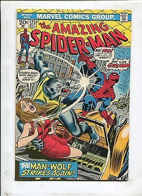 The Amazing Spider Man  125   The Man Wolf Strikes Again     7 5  1973