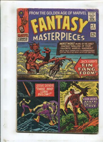 FANTASY MASTERPIECES #2 - THOSE WHO LURK BELOW! - (3.5) 1965