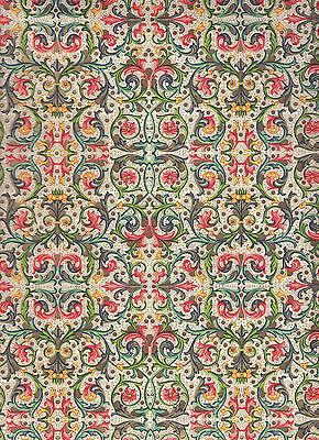 Italienisches Buntpapier / Überzugspapier /  Florentiner Papier 50 x 70 cm