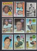 1969 Topps Partial Set