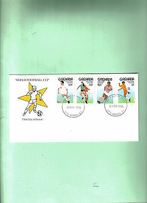 1986 world cup first day cover grenada