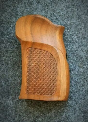 the Makarov pistol, the grips of wood walnut