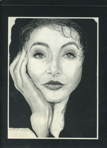 """Kate Bush Limited Edition Lithograph For """"Eat The Music""""  *NO CD - ART ONLY* NEW"""
