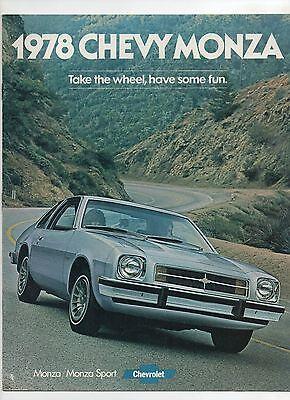 1978 Chevrolet Monza brochure