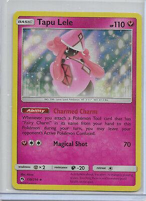 Pokemon 2018 Lost Thunder Tapu Lele Holo Foil Card 150/214