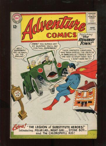 ADVENTURE COMICS #306 (5.0) THE RUNAWAY TOWN