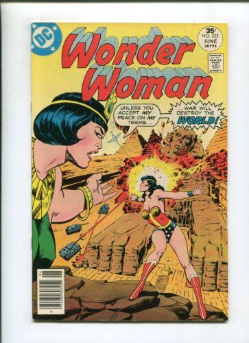 WONDER WOMAN #232 (9.2) (NM-) DUEL OF GODS! 1977
