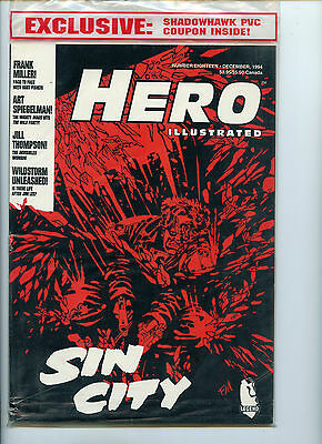 Hero Illustrated Issue  18 Brand New Bagged 1994 Comic News   Entertainment M1