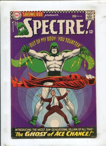 SHOWCASE #64 - THE GHOST OF ACE CHANCE! - (7.0) 1966