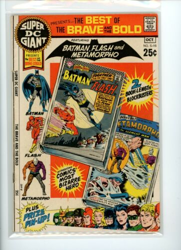 Super DC Giant #S-16 Best of the Brave and the Bold FN+
