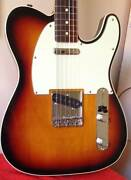 Fender '62 reissue Telecaster Custom MIJ Sunburst Camperdown Inner Sydney Preview