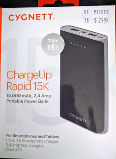 Portable Power Bank - CYGNET (BNIB)