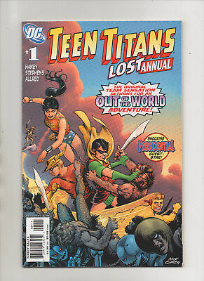Teen Titans: The Lost Annual #1 - JFK App! - (Grade 9.2) 2008