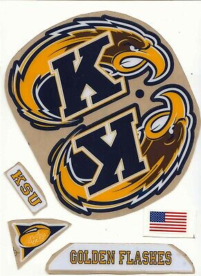 Kent State Football Helmet Decals Free Shipping Kent State Football