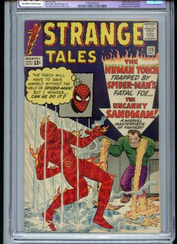 Strange Tales #115 CGC 6.5 Restored OWTW Origin Doctor Strange