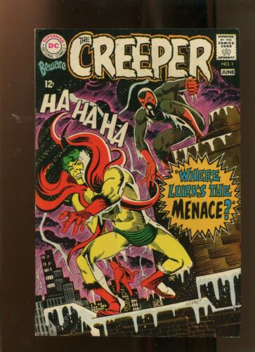 BEWARE THE CREEPER #1 (7.5) WHERE LURKS THE MENACE! 1968