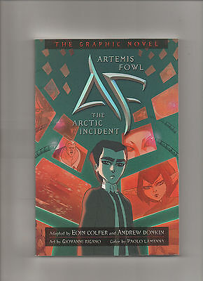 Artemis Fowl  The Arctic Incident   Graphic Novel    Grade 9 2  2009