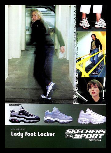 2000 Skechers Sport Footwear Shoes Vintage PRINT AD Women Foot Locker