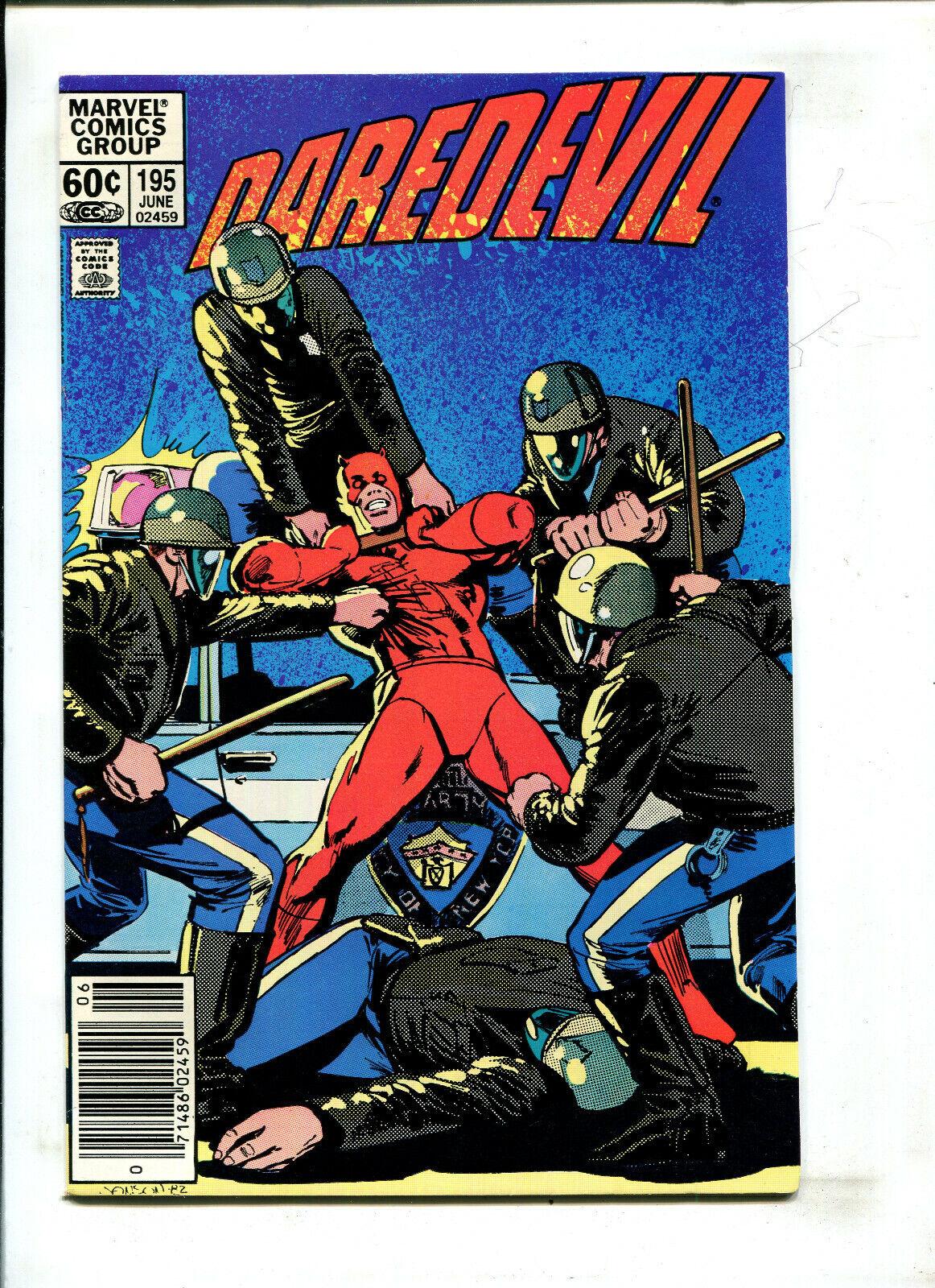 DAREDEVIL 195 NEWSSTAND - BETRAYAL 9.2 1983 - $19.70