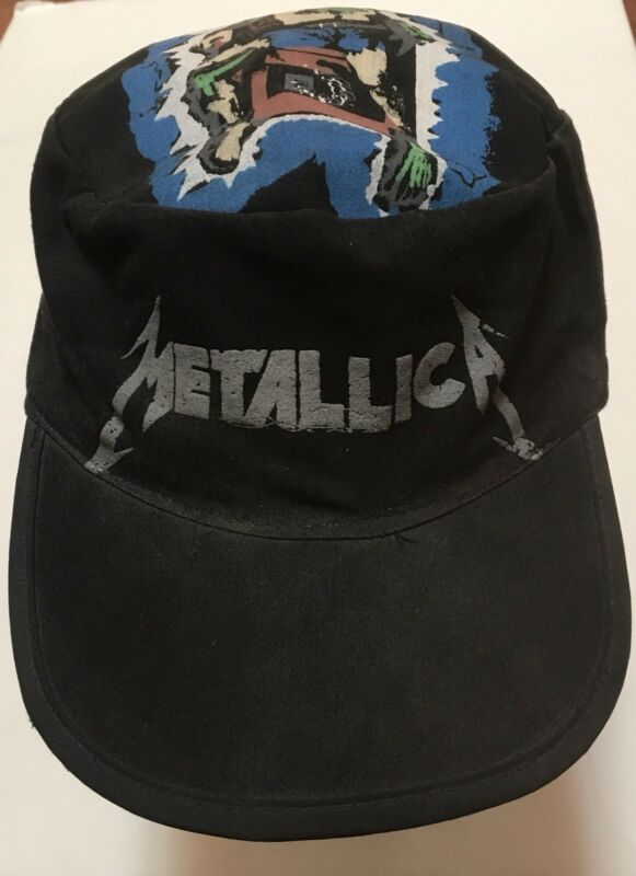 RARE Metallica Ride the Lightning Album Cover Electric Chair Hat