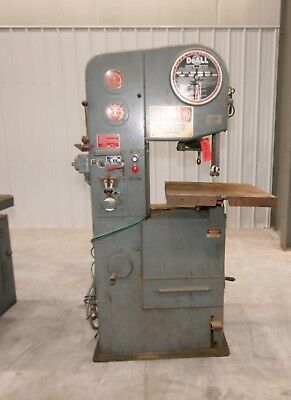 11976 Doall 16 Vertical Bandsaw Model 1612-1