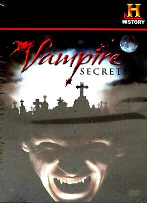 The History Channel - Vampire Secrets New! DVD, PARANORMAL,SUPERNATURAL,