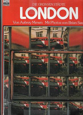 Aubrey Menen, LONDON - (Fotos Brian Seed) Bildband. Die etwas andere Stadt.