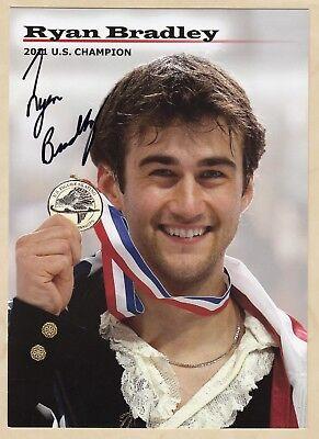 Ryan Bradley (USA) - Eiskunstlauf - original signierte Autogrammkarte 13x18cm