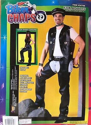 Biker Chaps Costume (Adult Unisex Biker Chaps Costume)