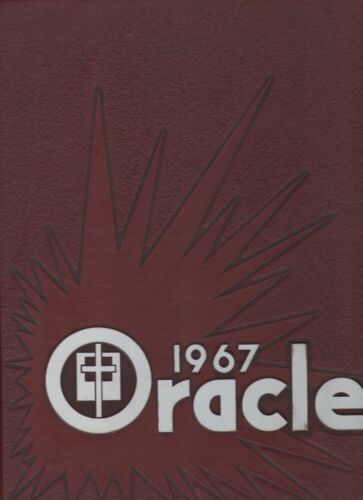 """1967 """"Oracle"""" - Indiana Central College Yearbook - Indianapolis, Indiana"""