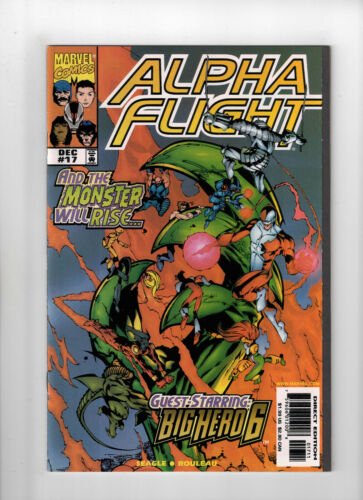 Alpha Flight #17 1st Appearance Big Hero 6 Marvel Comics 1998 Baymax
