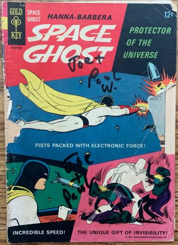 SPACE GHOST #1 (GOLD KEY,1966) SILVER AGE ~