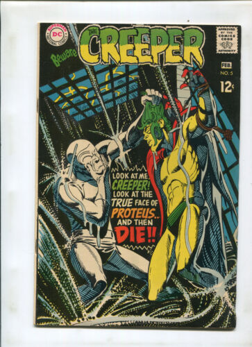 THE CREEPER #5 (7.5) TRUE FACE OF PROTEUS!