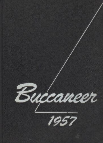 "1957 ""Buccaneer"" - East Carolina University Yearbook - Greenville, NC"