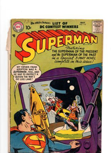 Superman #113, 1957, DC