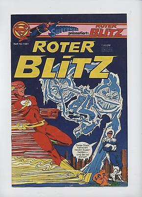 SUPERMAN präsentiert: ROTER BLITZ 1981 # 10 - EHAPA VERLAG - ZUSTAND 1