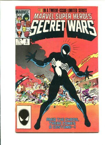 Marvel Super Heroes SECRET WARS #8 - VF/NM - 1st Appearance Black Suit FREESHIP!