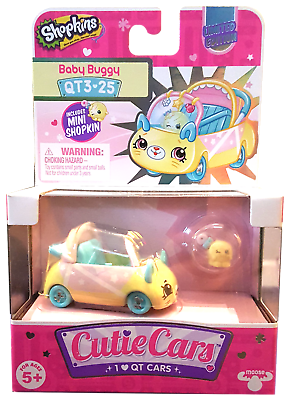 Ultra Rare Shopkins Cutie Cars Season 3 Limited Edition Baby Buggy Qt3 25 Ebay