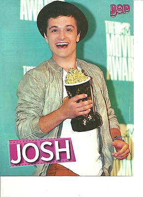 Josh Hutcherson  Full Page Pinup